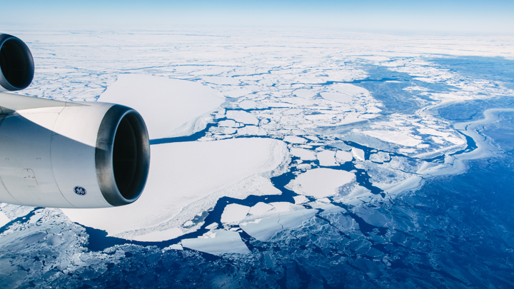 Celebrate New Year's Eve 2021-22 over Antarctica with Travel at 60 Community (Sydney Roundtrip)