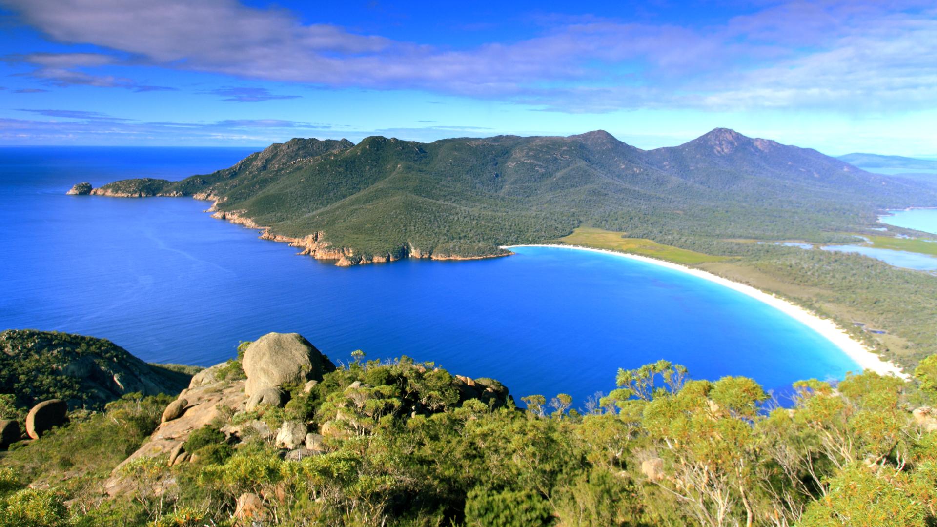 Enjoy scenic cruising along Tassie's east coast