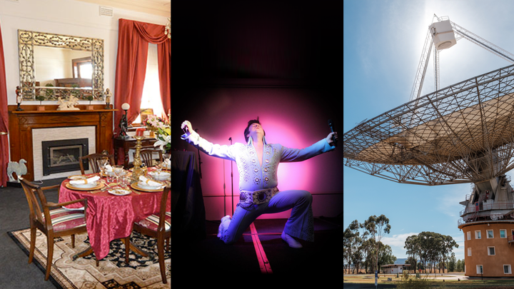Experience the Parkes Elvis Festival with like-minded over-60s! (Sydney roundtrip, Jan 2022)