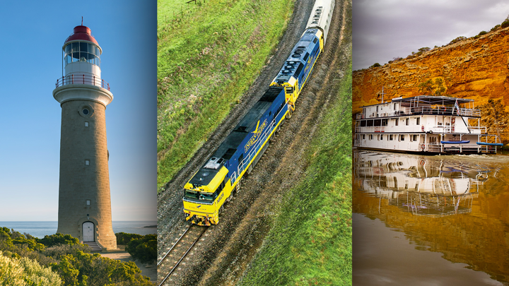 Ride the Indian Pacific overnight + Stay in Adelaide + Tour Kangaroo Island + Cruise the Murray + More!